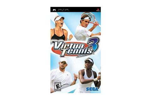 Virtua Tennis 3 PSP Game SEGA - Newegg.com