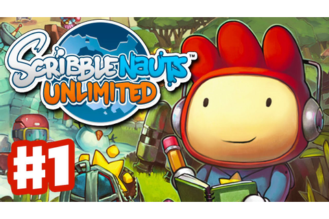 Scribblenauts Unlimited - Gameplay Walkthrough Part 1 ...