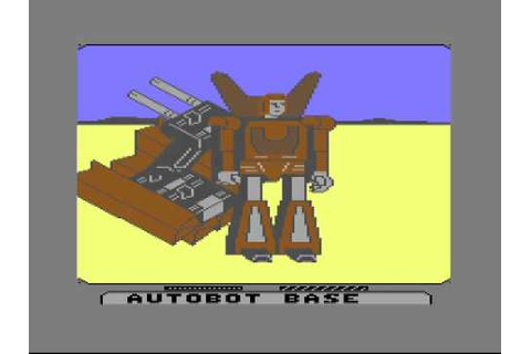 OGT - Transformers: Battle to Save the Earth - C64 - YouTube