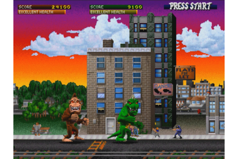 Rampage – video game, 1986 – HORRORPEDIA