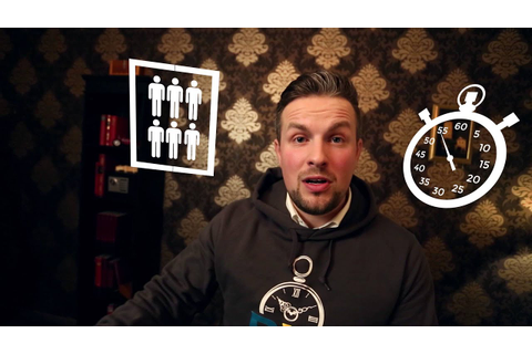 Raum&Zeit - Was ist ein Escape Game? - YouTube