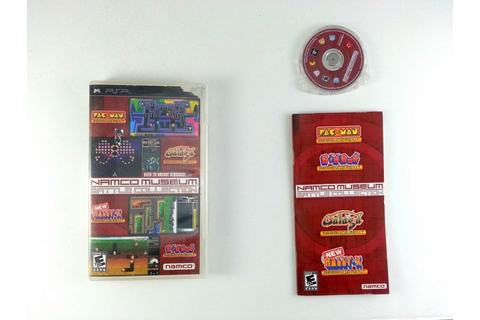 Namco Museum Battle Collection game for PSP (Complete ...