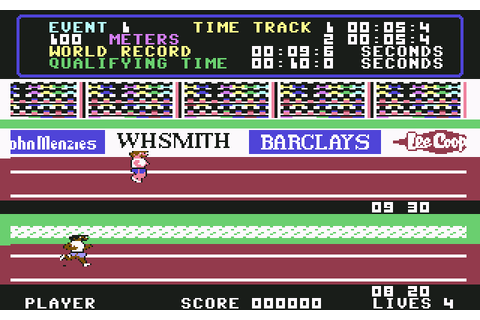 Daley Thompson's Decathlon | Top 80's Games