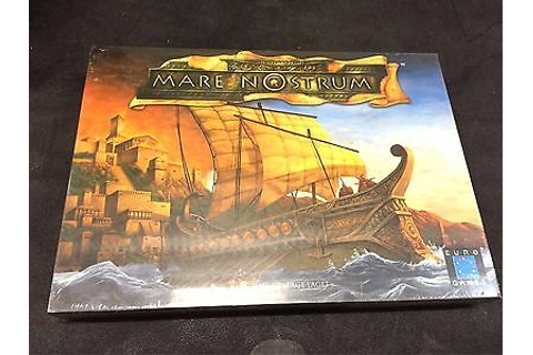 Mare Nostrum Board Game 1st Edition Euro Games Mint ...