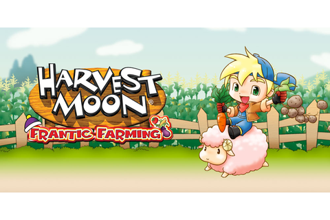 Harvest Moon: Frantic Farming | Nintendo DS | Games | Nintendo