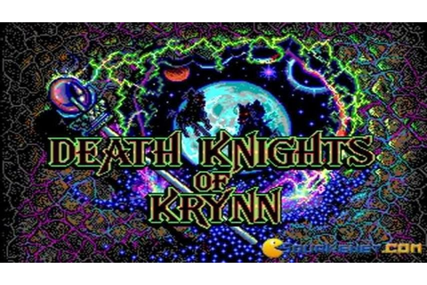 Death Knight of Krynn gameplay (PC Game, 1991) - YouTube
