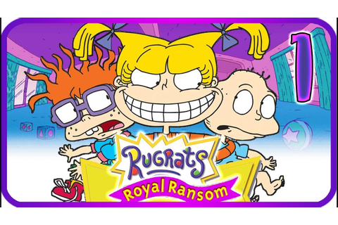 Rugrats: Royal Ransom Walkthrough Part 1 (PS2, Gamecube ...