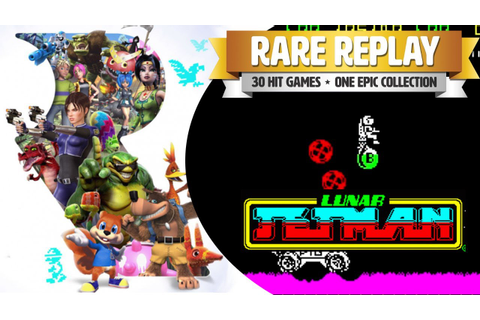 Rare Replay - Let's Play Lunar Jetman on Xbox One - ZX ...