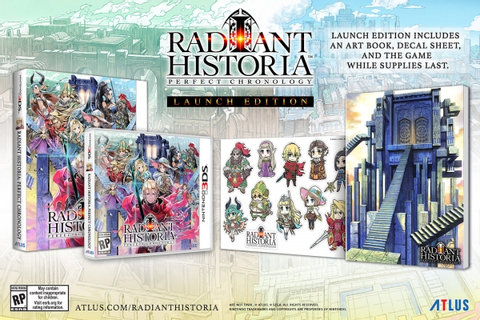 Radiant Historia: Perfect Chronology launch edition ...