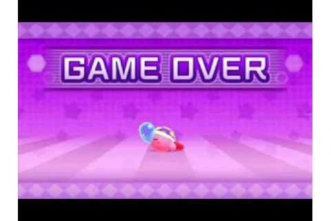 Kirby: Planet Robobot OST - Game Over (DL Link) - YouTube