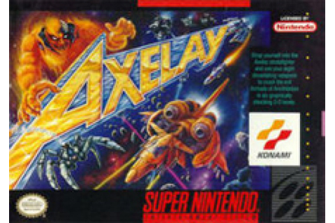Axelay Review - SNES | Nintendo Life