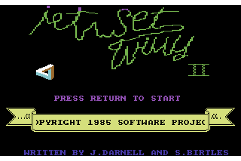Jet Set Willy II (1985) by Software Projects C64 game