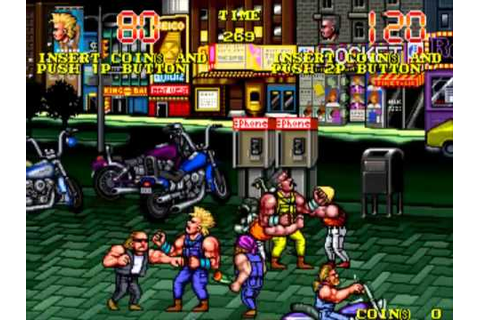 The Combatribes US MAME Gameplay video Snapshot -Rom name ...