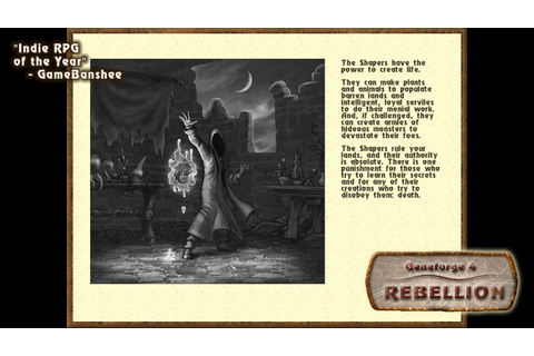 Download Geneforge 4: Rebellion Full PC Game