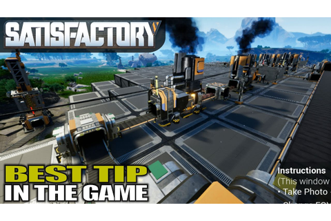 BIGGEST TIP IN THE GAME | Satisfactory | Gameplay | S01E06 ...