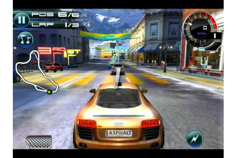 Asphalt 5 - iPhone/iPod touch - Game Trailer - YouTube