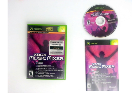Xbox Music Mixer game for Xbox (Complete) | The Game Guy