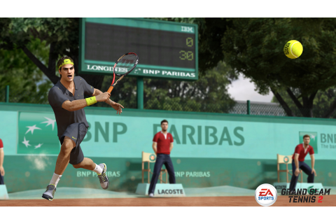 Grand Slam Tennis 2 (PS3 / PlayStation 3) Screenshots