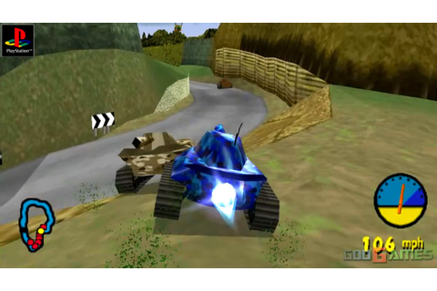 Tank Racer - Gameplay PSX / PS1 / PS One / HD 720P (Epsxe ...