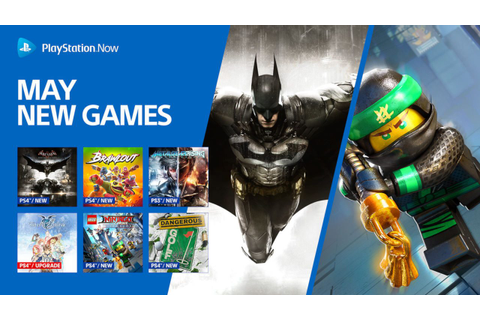 PS Now Adds 9 New Games for the Month of May, Batman ...