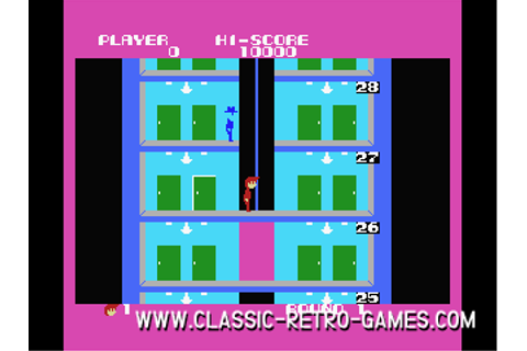 Download Elevator Action & Play Free | Classic Retro Games