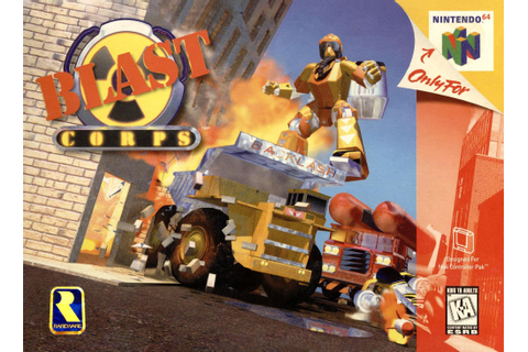 Blast Corps | Nintendo | FANDOM powered by Wikia