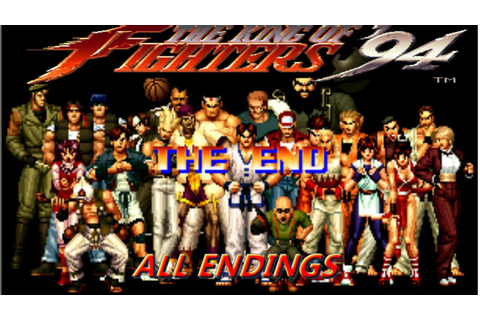 The King Of Fighters '94 | ARCADE | ALL ENDINGS - YouTube