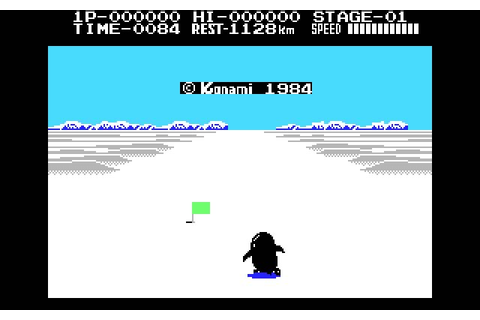 Download Antarctic Adventure racing for DOS (1986 ...