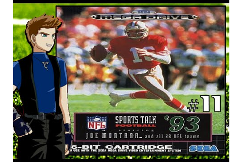 NFL Sports Talk Football 93 Starring Joe Montana ...