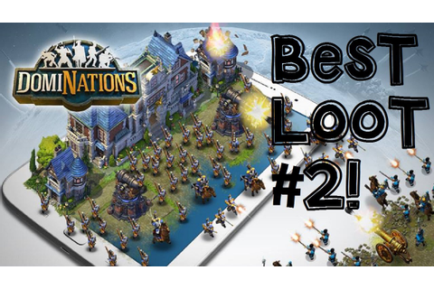 DomiNations Android/iOS Game BEST GOLD + FOOD LOOT FARMING ...