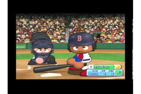 MLB Power Pros (Wii) ALCS Game #1 Twins @ Red Sox - YouTube