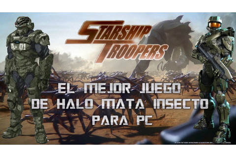 starship troopers the game para pc 2018 - YouTube