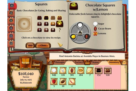 Chocolatier 2: Secret Ingredients | macgamestore.com