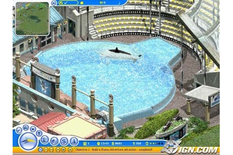 Sea World Adventure Park Tycoon Review - IGN