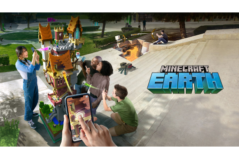Minecraft's Pokémon Go-style Game Minecraft Earth is ...