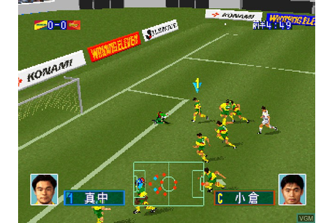 J. League Jikkyou Winning Eleven '97 for Sony Playstation ...