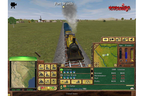 Railroad Tycoon 3 PC Game Free Download