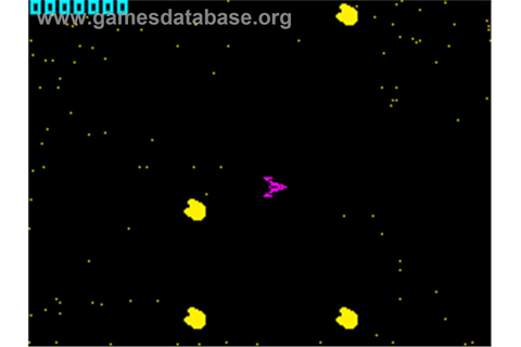 Planetoids - Sinclair ZX Spectrum - Games Database