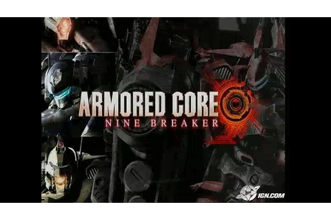 Armored Core: Nine Breaker Videos, Movies & Trailers ...