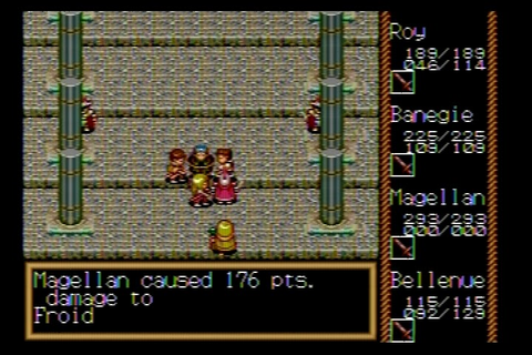 The RPG Consoler: Game #50: Traysia (Genesis) - Move Along ...