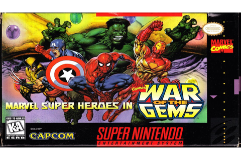 Marvel Super Heroes War Of The Gems Walkthrough Complete ...