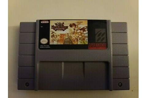 Fire Emblem: Thracia 776 SNES Game CARTRIDGE (US SELLER ...