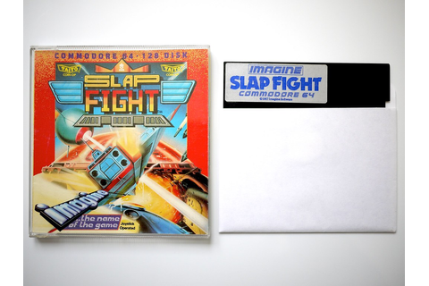 Slap Fight, disk, C64 | Game on diskette for the Commodore ...