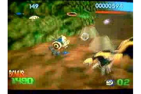 Buck Bumble Gameplay Mission 1 Nintendo 64 - YouTube