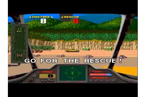 Game of the day 1027 Air Rescue(エア·レスキュー) Sega 1992 - YouTube