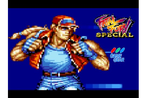 Fatal Fury Special playthrough (Game Gear) - YouTube