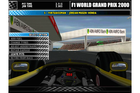 F1 World Grand Prix 2000 Download Game | GameFabrique