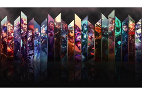League Of Legends Video Game #4237948, 1920x1080 | All For ...
