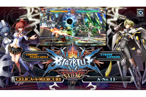 Amazon.com: BlazBlue: Chrono Phantasma EXTEND - Xbox One ...