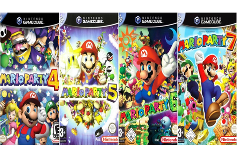 "Descargar ""Mario Party 4, 5, 6 y 7"" para Nintendo GameCube ..."
